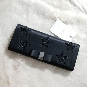 🌟HP😱🌟NWT TED BAKER EMBELLISHED STAR CLUTCH